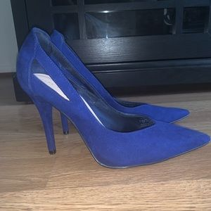 Zara Trafaluc Royal Blue Pumps